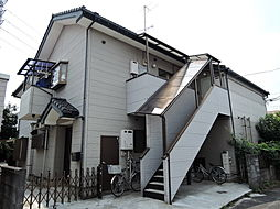 東京都立川市羽衣町3丁目の賃貸アパートの外観
