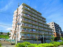 ヒュース一丘弐番館[2階]の外観