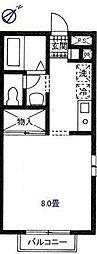 クレストヒルズK[305-2F号室]の間取り