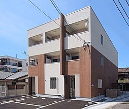 大阪府大阪市東住吉区針中野1丁目の賃貸アパートの外観