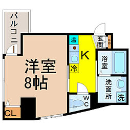 サン・名駅南ビル[5階]の間取り