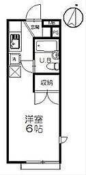 サンコート浜竹[22号室]の間取り