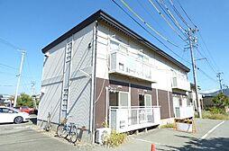 長野県千曲市大字屋代の賃貸アパートの外観