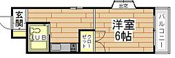 アンフィニィ島上[2階]の間取り