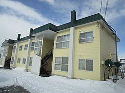 北海道札幌市北区百合が原3丁目の賃貸アパートの外観