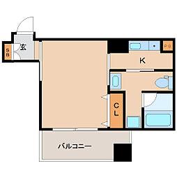 兵庫県尼崎市昭和南通5丁目の賃貸マンションの間取り