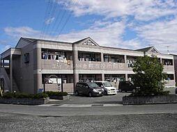 岡山県倉敷市西富井の賃貸マンションの外観