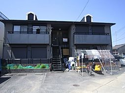 大阪府大阪狭山市池尻自由丘1丁目の賃貸アパートの外観