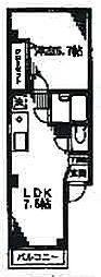 サクラコーポ[2階]の間取り