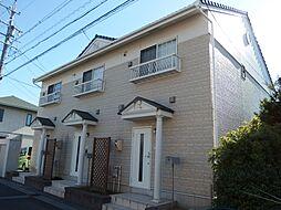 愛知県岡崎市不吹町の賃貸アパートの外観