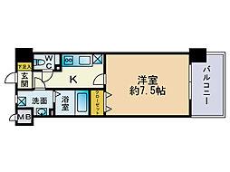エンクレスト天神東3[2階]の間取り