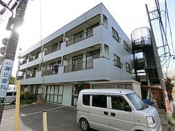 埼玉県草加市原町2丁目の賃貸マンションの外観