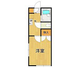 レオパレスRAFFINATO2[1階]の間取り