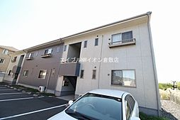 岡山県倉敷市広江2の賃貸アパートの外観