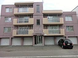 北海道札幌市東区北三十一条東12丁目の賃貸マンションの外観