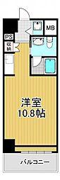 アーデンタワー南堀江[2階]の間取り