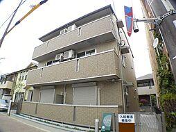 兵庫県西宮市屋敷町の賃貸アパートの外観