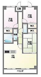 覚王山センタービル[11階]の間取り