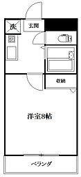 フレグランス萩原[1階]の間取り