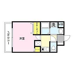 GOOD LIFE岩田[2階]の間取り