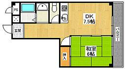 ミ・ピアーチェ武庫之荘[4階]の間取り