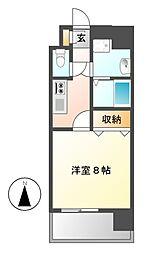 カレント茶屋ヶ坂[3階]の間取り