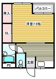 メゾン澤田[301号室]の間取り