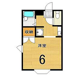 小華マンション[2階]の間取り