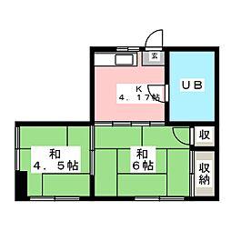 大町桜井ビル[4階]の間取り