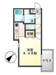 Branche覚王山(ブランシェ)[1階]の間取り