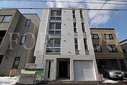北海道札幌市中央区南十六条西15丁目の賃貸マンションの外観