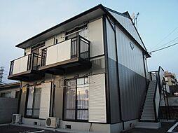 栃木県宇都宮市東宿郷3丁目の賃貸アパートの外観