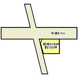 JR常磐線 ひたち野うしく駅 バス15分 イオンモールつくば下車 徒歩13分の賃貸土地