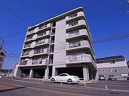 コーポラス三栄[5階]の外観
