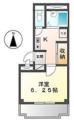 コーポフェニックス[2階]の間取り