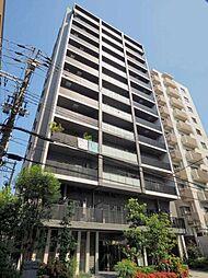 大阪府大阪市中央区十二軒町の賃貸マンションの外観