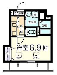 フォレスト・K[1階]の間取り
