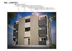大阪府大阪市東住吉区北田辺5丁目の賃貸アパートの外観