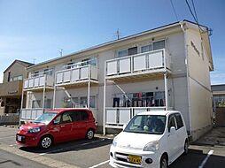ホワイトハイツI(6戸)II(4戸)[2階]の外観