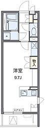 神奈川県横浜市鶴見区上末吉1丁目の賃貸マンションの間取り