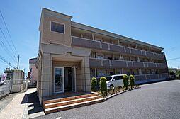 茨城県龍ケ崎市佐貫3丁目の賃貸マンションの外観