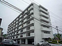広島県東広島市八本松町飯田の賃貸マンションの外観