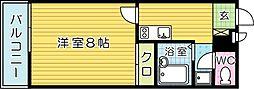 レオネクストサンライズ小熊野[102号室]の間取り