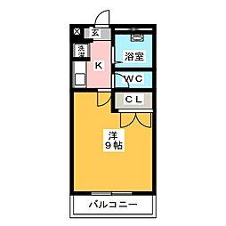 アン116[1階]の間取り