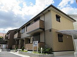 大阪府八尾市久宝寺1丁目の賃貸アパートの外観