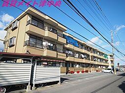 三重県津市神納の賃貸マンションの外観