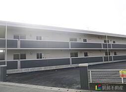 福岡県筑後市大字野町の賃貸マンションの外観