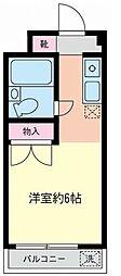 コーポあーさ・相武台[2階]の間取り