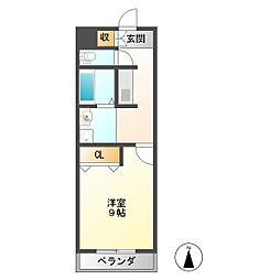 I's Villa Annex[1階]の間取り