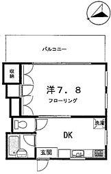 ダイナハウス[202号室]の間取り